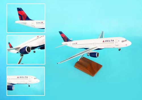"Delta A320 ""New Livery"" (1:100)"