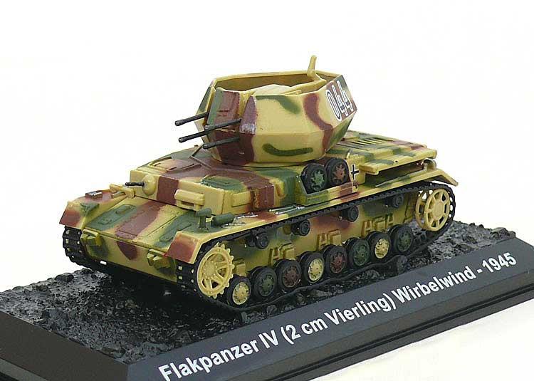 Amercom Diecast Sd Kfz 161 4 Flakpanzer Iv Wirbelwind S