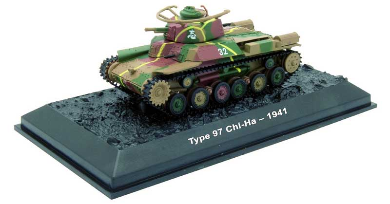 Type 97 Chi-Ha, Company 3, 1st Tank Regiment, Imperial Japanese Army, 1941 (1:72)