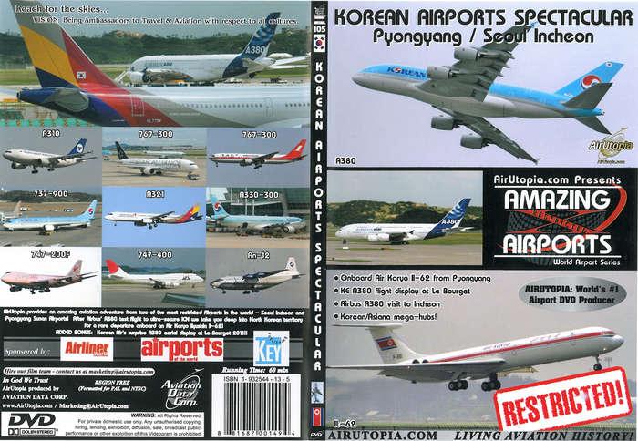 Air Utopia Aviation Dvds Amazing Airports Dvd Korean