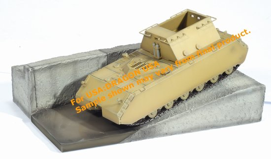 "Super Heavy Tank Maus with Testbed at Bblingen ""Ready to Test"" (1:72)"