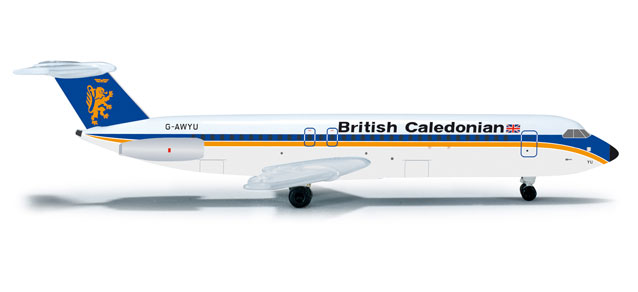British Caledonian BAC-111-500 (1:500) - Special Sale Item