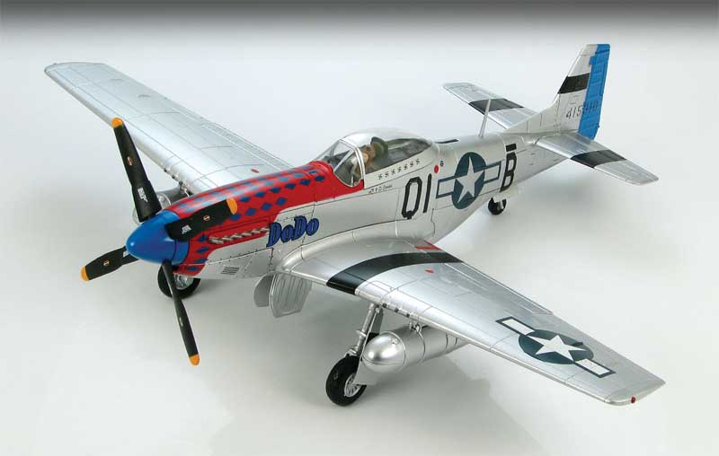 "P-51D Mustang ""DoDo,"" Cpt. Clinton Burdick, 361st Fighter Squadron, 356th Fighter Group, USAAF, England, 1944 (1:48)"