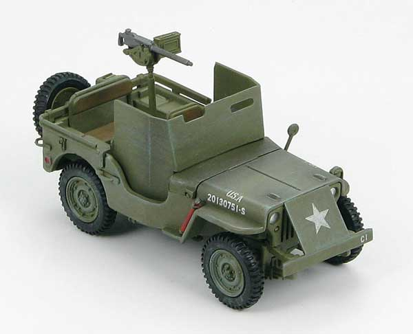 Willys MB Jeep, Europe 1944 (1:48)