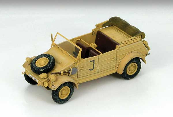 Kubelwagen Type 82 sPzAbt.501 Maintenance Unit HQ Company Tunisia 1943 (1:48)