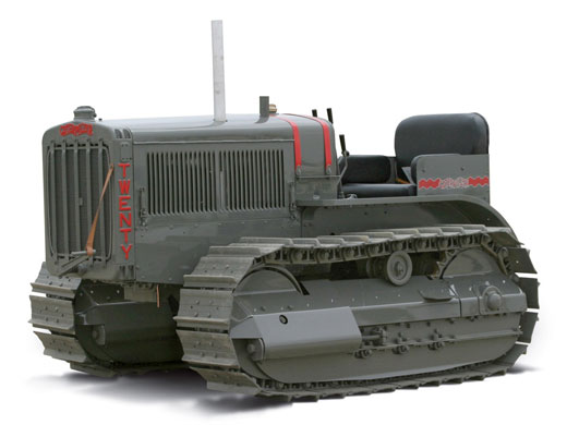 Cat Twenty Track Type Tractor (1:16)