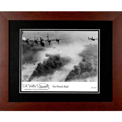 The Ploesti Raid Autographed Framed Photograph