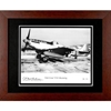 Old Crow P-51 Mustang Photograph Autographed Framed in Metal