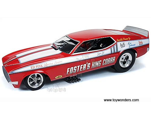 Auto World Legends Foster 39 S King Cobra Ford Mustang Nhra