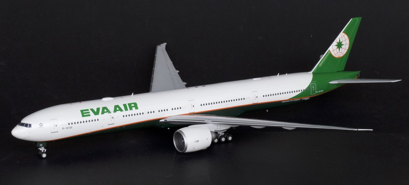 EVA Air B777-300ER New Livery B-16725 (1:200) - Preorder item, order now for future delivery