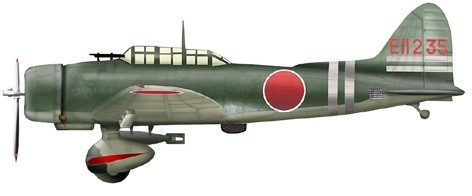 "Aichi D3A1 ""Val"" Dive Bomber Model 11 EII-235, Carrier Zuikaku, ""Battle of Coral Sea"" (1:72) - Preorder item, order now for future delivery"