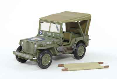Willys MB Jeep Royal Air Force (1:72)