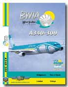 BWIA West Indies A340-300 (DVD)