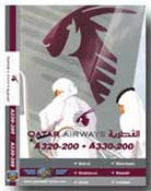 Qatar A320/A330 (London-Middle East) (DVD)