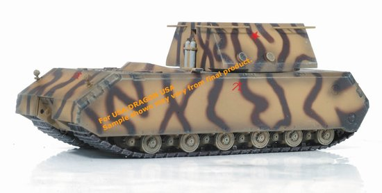 Germany Super Heavy Tank Maus w/Mock-up Weight Turret (1:72)