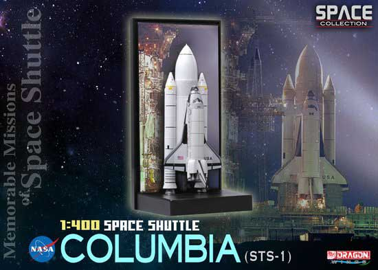 "Space Shuttle ""Columbia"" w/SRB (STS-1) - Memorable Missions of Space Shuttle (1:400)"