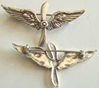 WWI Prop Collar Insignia Sterling