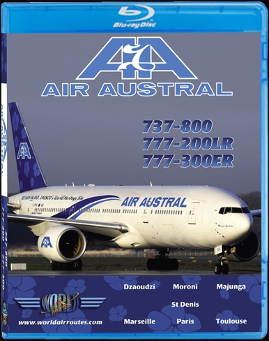 Air Austral 737-800, 777-200LR & 777-300ER (BluRay DVD)