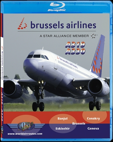 Brussels A319 A330 (BluRay DVD)