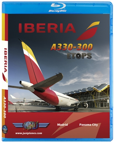 Iberia A330 ETOPS (BluRay DVD)