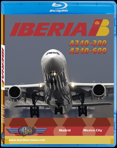 Iberia A340-600 (BluRay DVD)