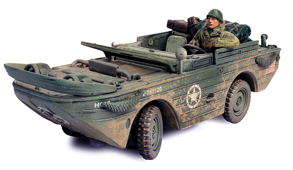 U.S. Amphibian Jeep 3rd Armored Division Normandy 1944 (1:32)
