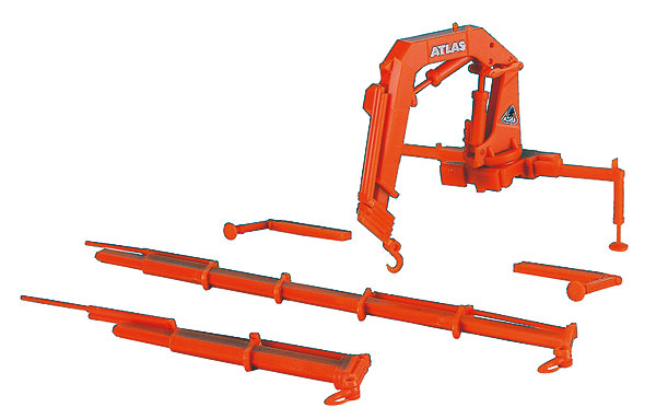Atlas Truck Mount Loading Crane 2-Piece Set CRANE (1:87)