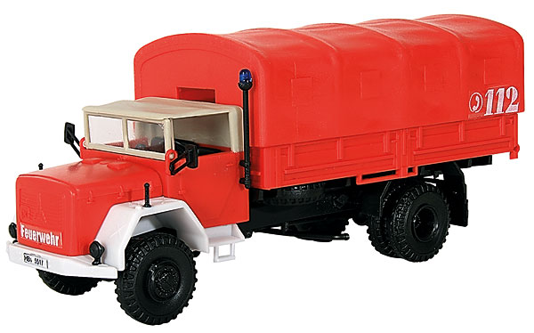Fire Department Magirus Truck (1:87)