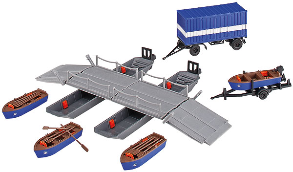 THW Pontoon Boats (1:87)