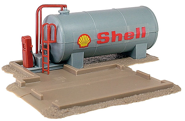 Shell Diesel Tank and Pump (1:87)