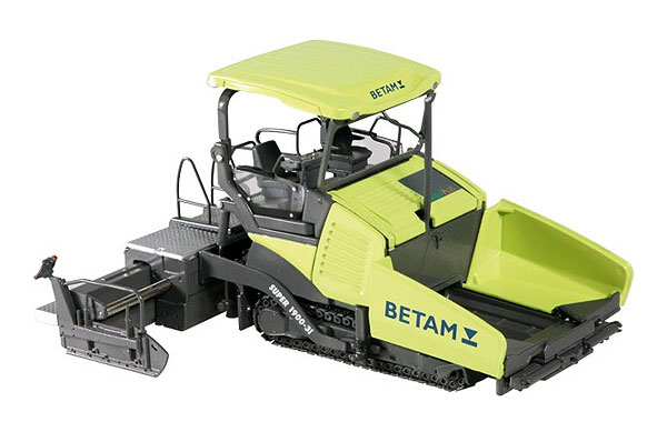 Betam - Vogle Super 1900-3I Road Paver -  Detailed metal tracks (1:50)