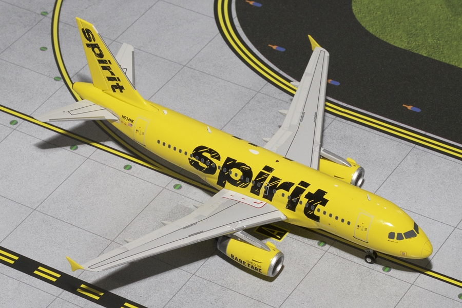 "Spirit A319 ""Yellow Livery"" N534NK (1:200)"
