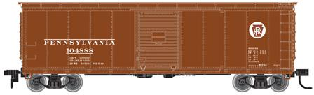 USRA Steel Rebuilt Box, Pennsylvania Railroad #105530 (HO)