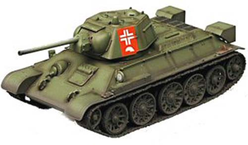 T-34/76 Russian Army (1:72), EasyModel Military Models, EM36268
