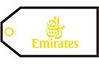 Emirates Bag Tag by Airline Gifts by Aviation Collectables Intl SKU TAG074