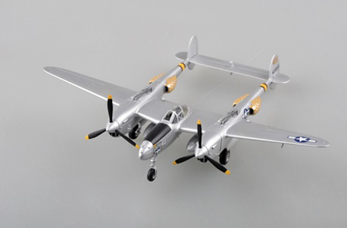 "P-38 Pacific Prowler 44th FS, 18th FG, ""4425568"" (1:72) by EasyModel Aircraft Models SKU EM36433"