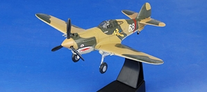 "P-40 China AVG Flying Tigers, ""White 68"" 1942 (1:72) by Forces of Valor"