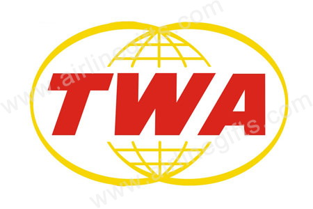 TWA Retro Logo Patch (Iron On), ACI Aviation Jewelry and Bagtem Number
