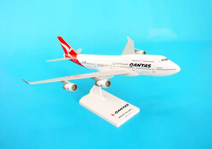 Qantas 747-400 (1:250) New Livery, SkyMarks Airliners Models Item Number SKR368