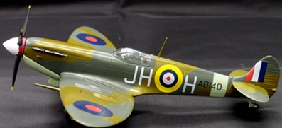 RAF 317 SQN Spitfire MKV Polish 1941 (1:72), Witty Wings Diecast Fighters Item Number WTY72022-003
