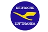 Lufthansa Retro Patch (Iron On Applique), ACI Aviation Jewelry and Bag Tags Item Number APP003