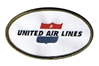 United Airline Retro Patch (Iron On)