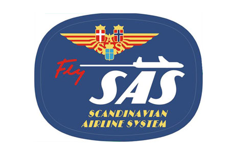SAS Retro Patch (Iron On), ACI Aviation Jewelry and Bagtem Number