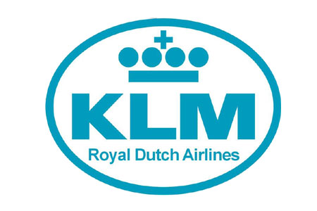 KLM Patch (Iron On), ACI Aviation Jewelry and Bagtem Number