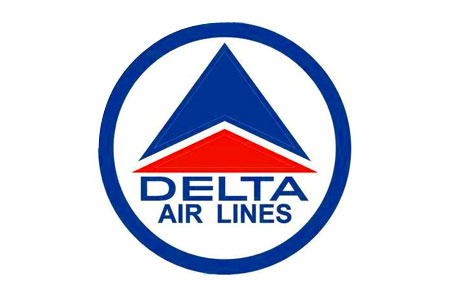 Delta Retro Logo Patch (Iron On), ACI Aviation Jewelry and Bagtem Number