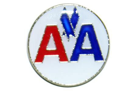 AA Round Lapel/Tie Tack, ACI Aviation Jewelry and Bagtem Number
