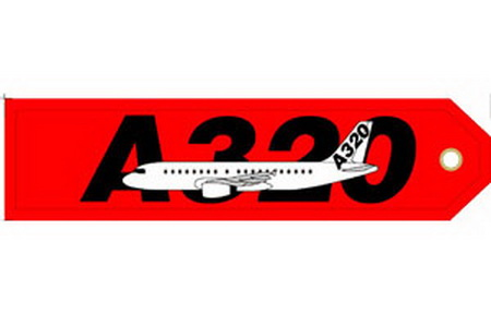A320 Embroideredg, ACI Aviation Jewelry and Bagtem Number RBF320
