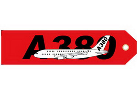 A380 Embroideredg, ACI Aviation Jewelry and Bagtem Number RBF380