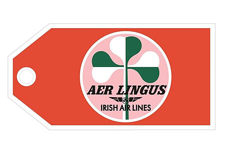Aer Lingus Retro BagCI Aviation Jewelry and Bagtem Number