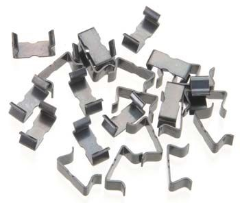 AFX Track Clip 25 Pack, AFX Slot Car Racing Item Number AFX1013